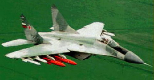 Характеристики самолета МиГ-29